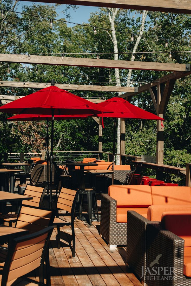 Top of the Rock Restaurant & Brewery | Outdoor dining ...