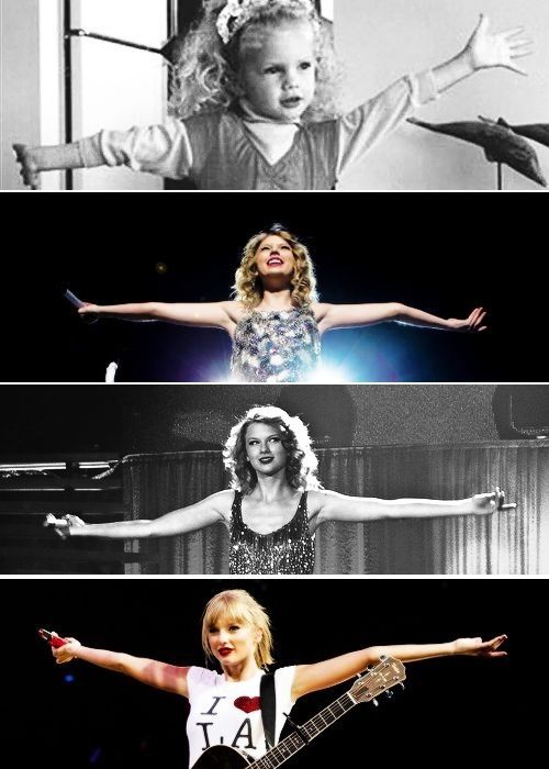 """I think it's important that you know that I will never change but I'll never stay the same either."" - Taylor Swift"