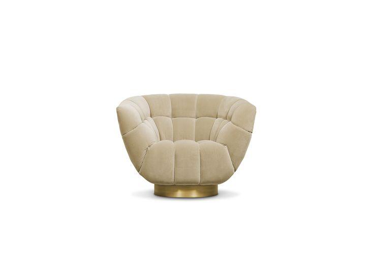 Der Vollpolstersessel Essex Von BRABBU. Der Charmante Komfortsessel Bietet  Ein Ikonisches Schalendesign. Brabbu Chairs Bei Villatmo.de