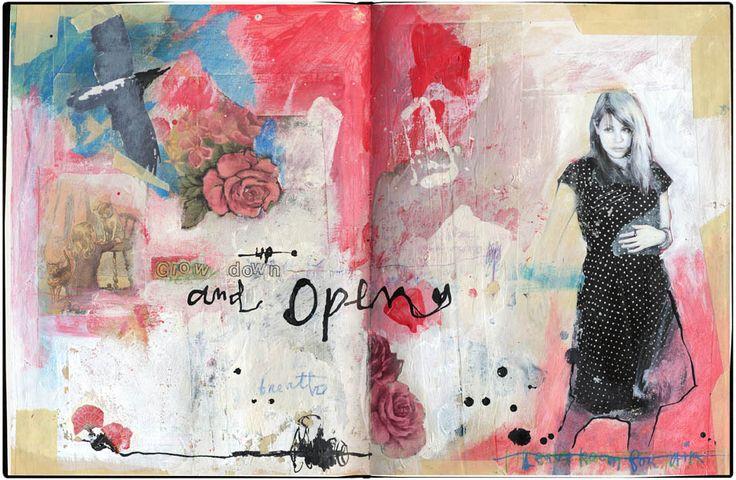 42 best Sabrina Ward Harrison images on Pinterest   Art ... Sabrina Ward Harrison Sketchbook