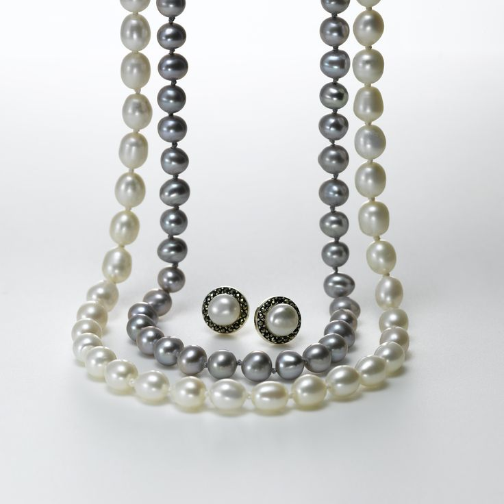 """Another bride, another June, another sunny honeymoon ..."" It's the month of weddings -- that classic moment for magnificent pearl jewelry. We have a variety of necklaces and pendants to suit every kind of bride ... and every kind of guest, too. There are also some wonderful bridesmaids' gifts among our pearl selection. Stop by or click link here."