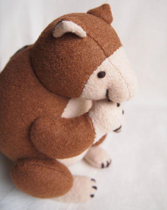 creator: kuzoomiko [ Creema ]セスジキノボリカンガルーさん