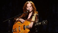 Just hours before the first full-scale concert of her current tour, Bonnie Raitt stood high above the stage and reflected on the job she's held for more than four decades.Raitt Stood, Stood High, Talent Women, Full Scal Concerts, Current Tours, Bonnie Raitt