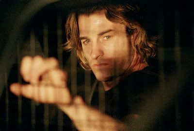 Half-vampire, total babe. Scott Speedman as Michael Corvin in Underworld. Didn't suck.