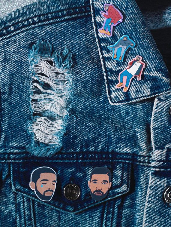 Drake Gifts! Obessed with Drake, or manybe just a little? Drake head pin…
