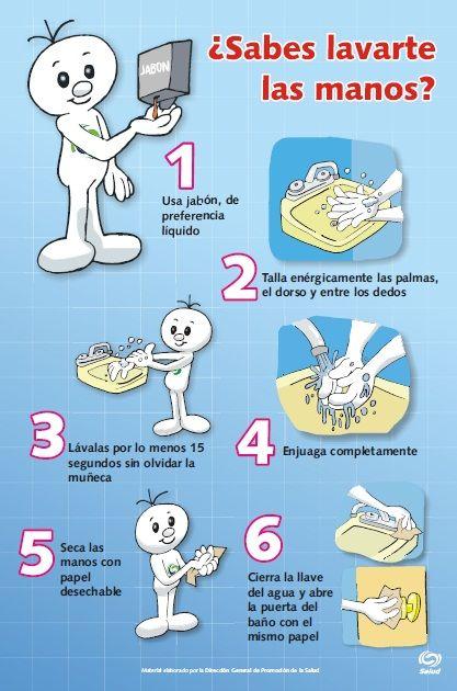 ¡Lavarse las manos es muy importante! #Infantil