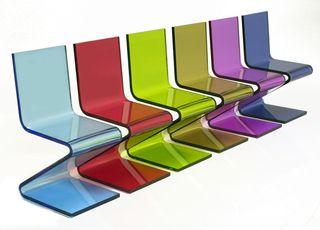 Acrylic Glide Dining Chair by Designlush