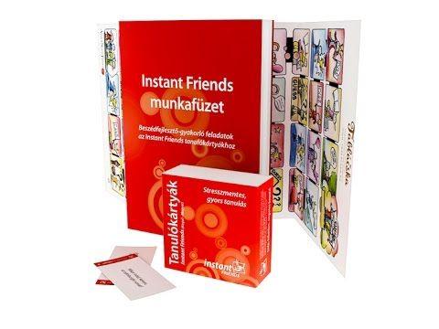 Instant Friends Angol Tanulókártyák a laza angol párbeszédekhez [AngolNy...
