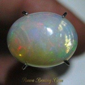 Batu Mulia Opal Pelangi Neon Green 2.35 carat