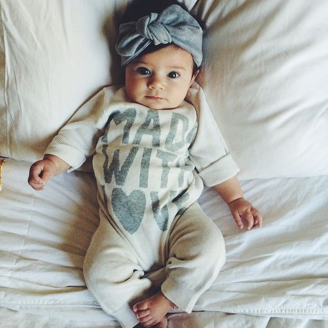 Made with love newborn outfit