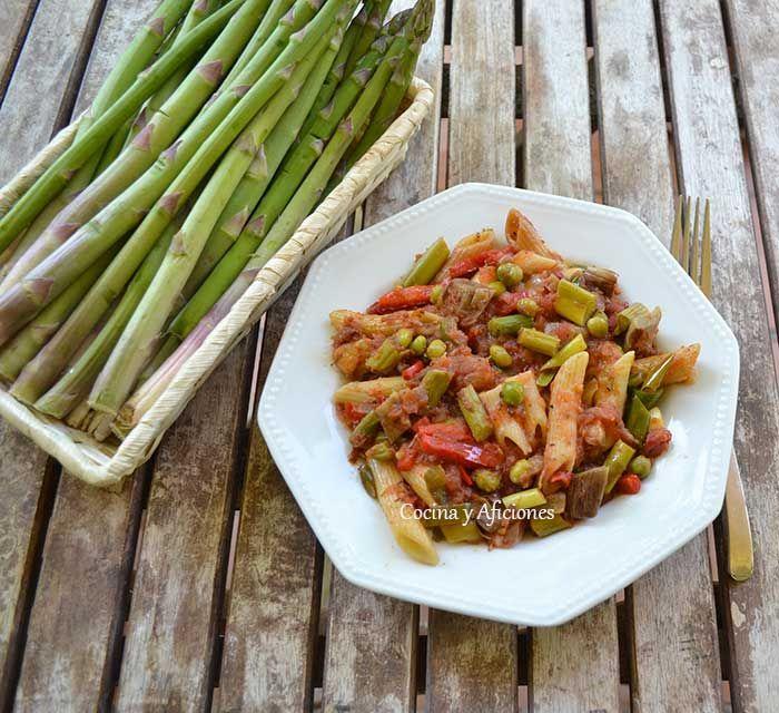 Macarrones--con-verduras-o-a-la-Corinne