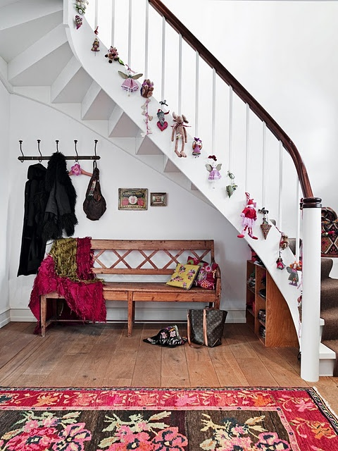 Best Christmas Bannisters Images On Pinterest Christmas Ideas