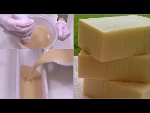 SAPONE DA BUCATO FATTO IN CASA DA BENEDETTA - Homemade Laundry Bar Soap - YouTube