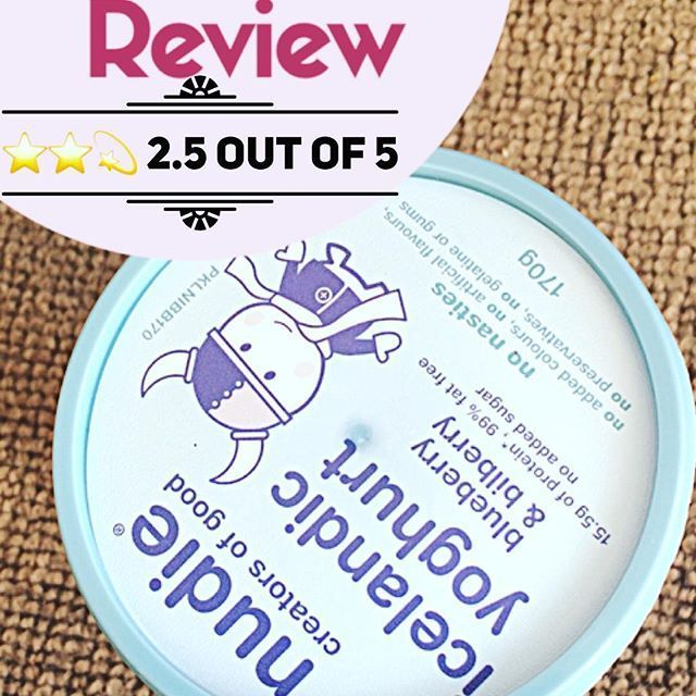 Anyone tried the new nudie yoghurt. It 2.5 star for me. I would have given just one star as it's not great in taste, because it is healthy I ended up giving with more stars.. more at - https://momwisdomweb.wordpress.com/2017/12/13/nudie-iceland-yoghurt-review/ #nudieyoghurtreview #nudieyoghurt #momwisdomweb