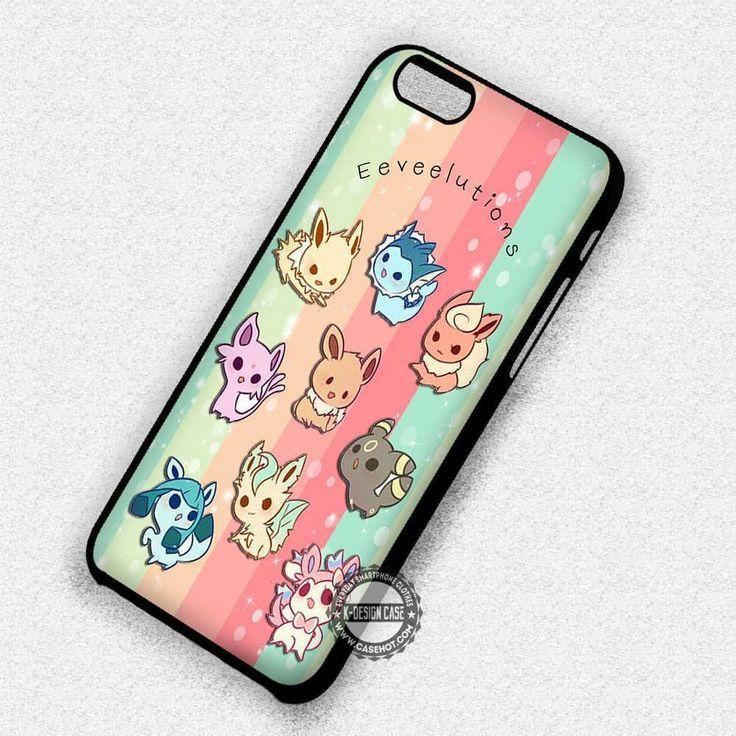 Cute Eeveelutions - iPhone 7 6 Plus 5c 5s SE Cases & Covers #cartoon #anime #pokemon  #phonecase #phonecover #iphonecover #iphonecase #iphone7case #iphone7plus #iphone6case #iphone6plus #iphone6s #iphone6splus #iphoneSE #iphone5case #iphone5c #iphone5s #iphone4case #iphone4s