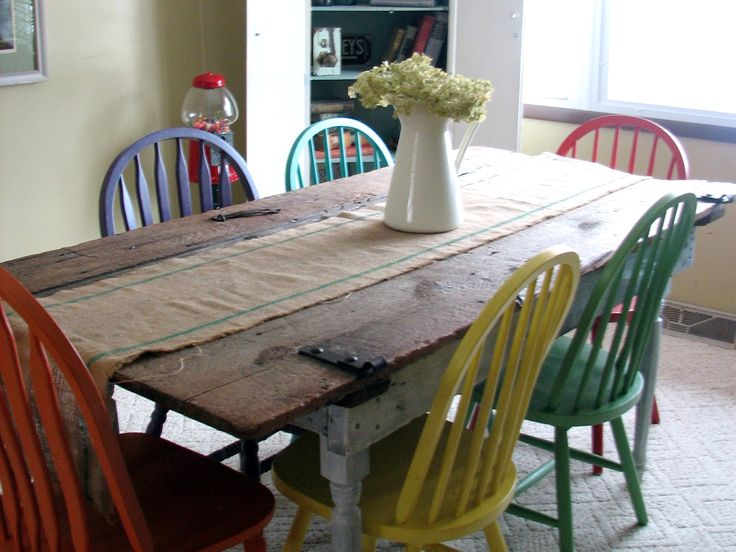 best 25+ old kitchen tables ideas on pinterest | old door tables
