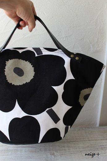 ワンランク上の布バッグ~マリメッコマルシェが大人気♪ : neige+ 手作りのある暮らし