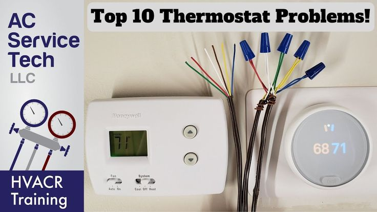 Top 10 thermostat related problems heat and ac youtube