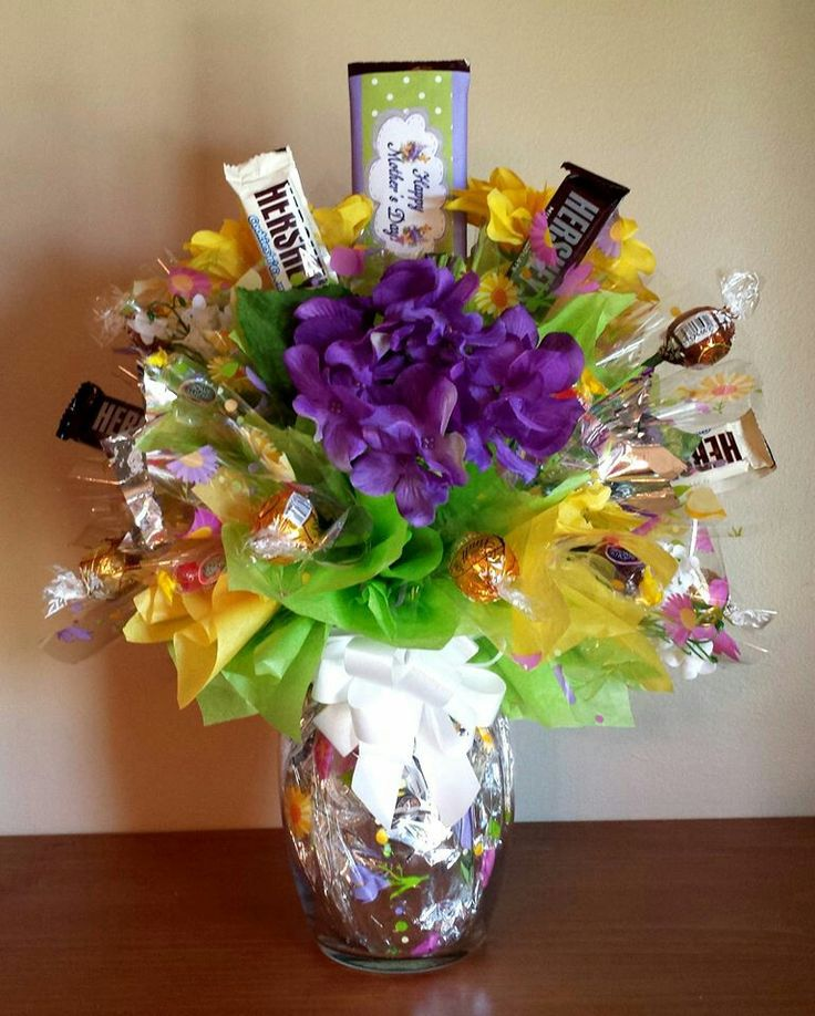 385 best Candy Bouquets and More Ideas images on Pinterest | Gift ...