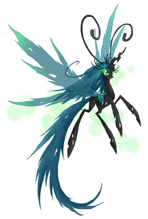 My Little Pony Queen Chrysalis Breezie by kaizerin ======================= #mlp #season5