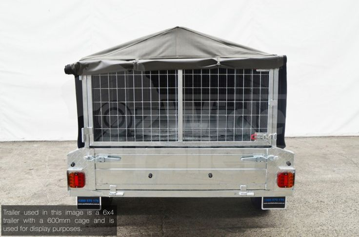 This Canvas cover is made to suit our 7x4 trailer cage. Please contact the team to see if it will be suitable for your own trailer.