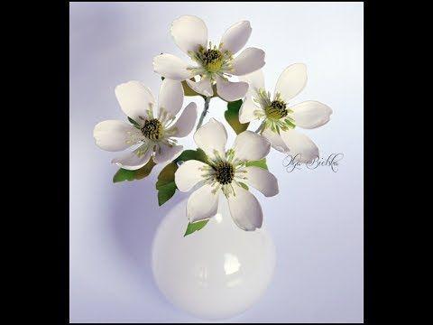 Kwiaty z foamiranu ZAWILCE? - tutorial - цвет из фоамирана - foamiran flowers - YouTube