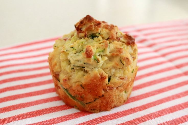 Healthy Thermomix Zucchini & Ham Muffins - perfect for lunch boxes!