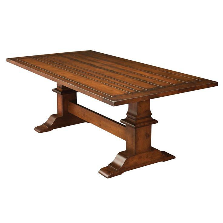 Chesterton Table Dining Furniture Tables - Amish Furniture - We have over  100 Solid American cherry and Oak Amish furniture items.
