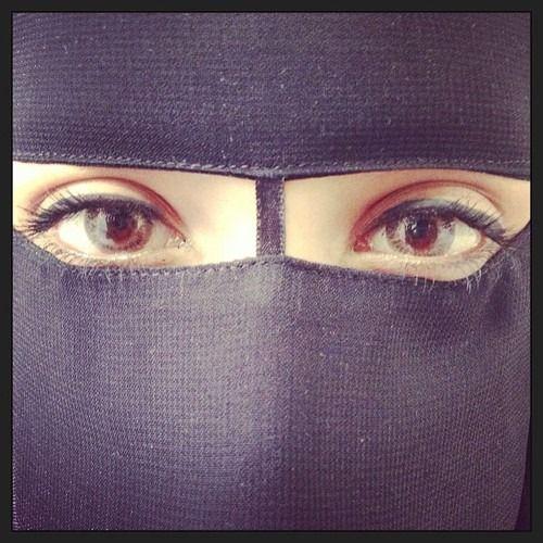 Niqab #Eyes