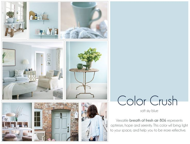 Colors benjamin moore and the o 39 jays on pinterest for Benjamin moore breath of fresh air