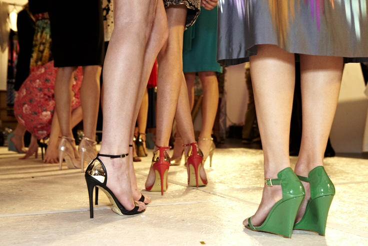 Stepping backstage - AWW for Chop til you Drop Spring Lamb @ 30 Days of Fashion and Beauty