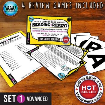 #testprepsaleCustomers who used our 3rd grade STAAR WARS Reading Task Cards loved them, and many emailed us asking us for more.  So we listened!  But instead of creating more STAAR review sets, we thought it would be even better to have task card sets that could be used WHILE youre teaching, instead of just to review afterward.