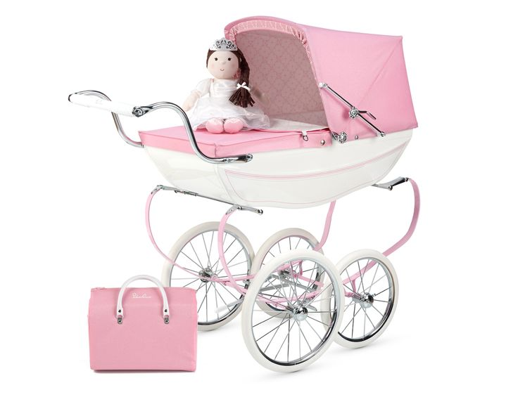 Limited Edition Princess Dolls Pram from Silver Cross. http://www.silvercrossbaby.com/Toys/dolls-prams/princess/ Need for my babygirl(s)