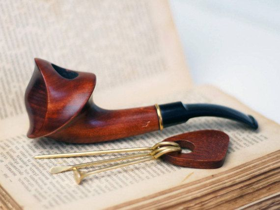 Smoking Pipe Wood carved smoking pipe Tobacco Pipes Wooden