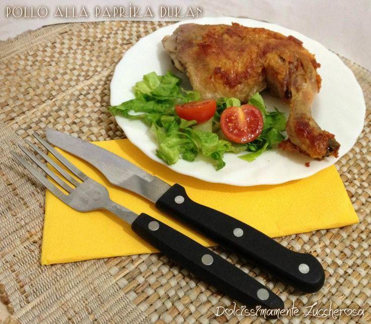 Pollo alla paprika Dukan ricetta light