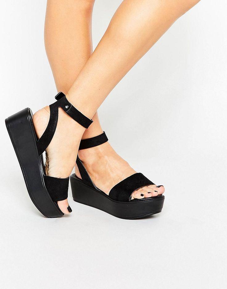 Bild 1 von ASOS – TALIA – Sandalen mit Keilabsatz