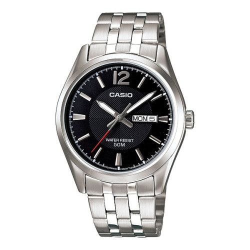 Call @ 9769465202. Trying to find exclusive men's watches, here is your solution. Shopattack.in brings graceful and branded Casio Black Textured Dial Mens Watch at Rs. 2,965/-. Get your piece now. For more details, visit the website.