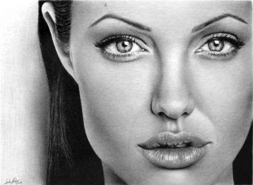 Lenyűgöző ceruzarajzok - Női portrék - Kreatív művészet
