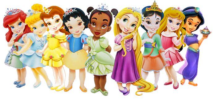 princesas disney bebes