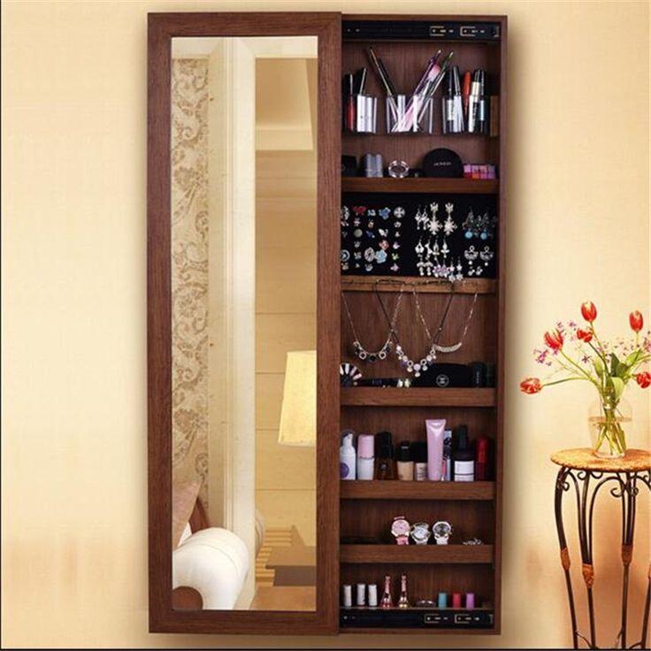 Innerspace space saver withe espelho armário de jóias-Armários de madeira-ID do produto:60577688733-portuguese.alibaba.com