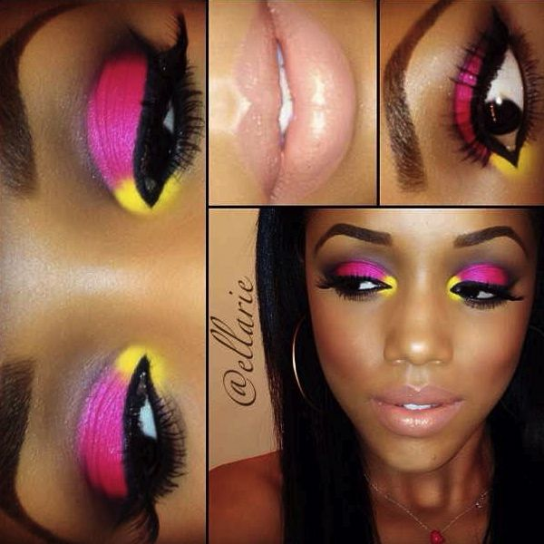 Eye Makeup - for brown skin girls
