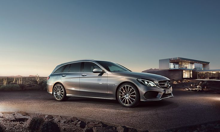 The new C-Class Estate.
