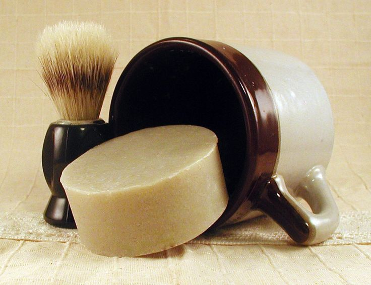 "Men's Shaving Kit with Brush . . . For when he decides, ""Beard, no longer!"""
