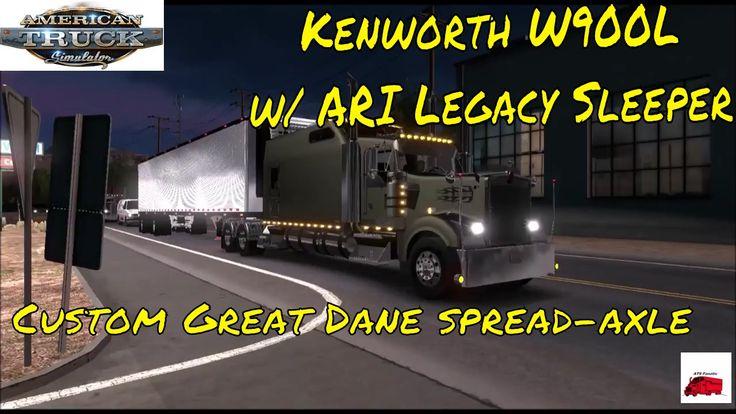 Big Kenworth W900 Mod | American Truck Simulator | ATSFanatic