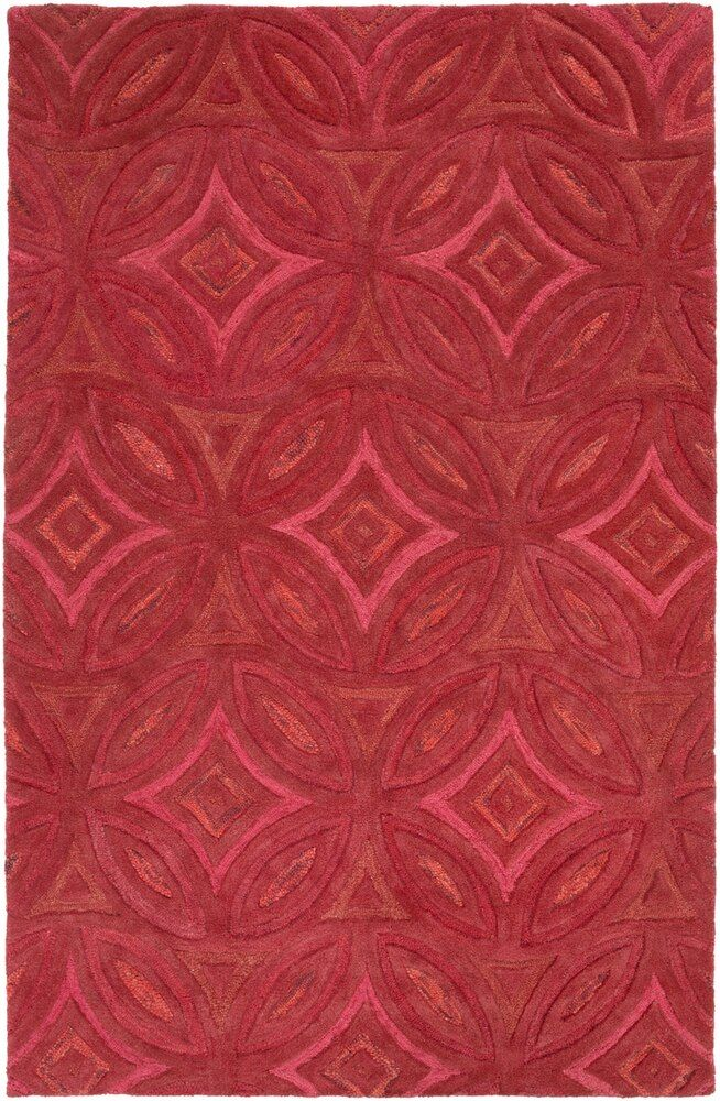 Perspective Psv 42 9 X 13 Rectangle Area Rug Geometric Pattern Area Rugs Hand Tufted Rugs