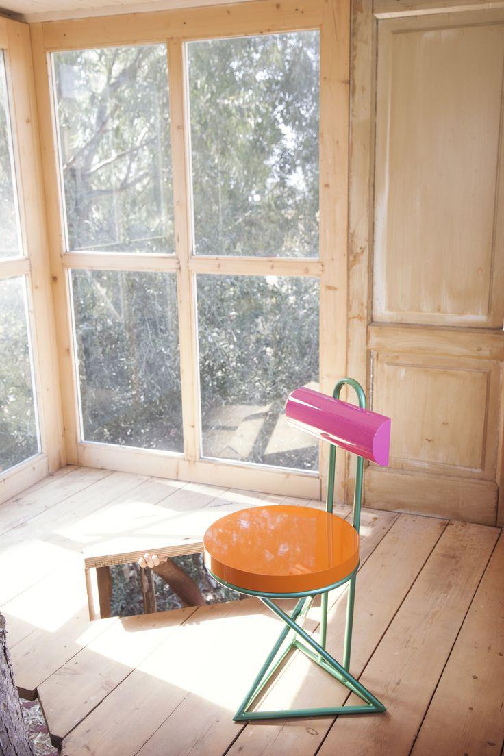 #cyber #chair, design by #AntonioAricò for #altreforme, #galactica collection #interior #home #decor #homedecor #furniture #aluminium #woweffect #madeinitaly