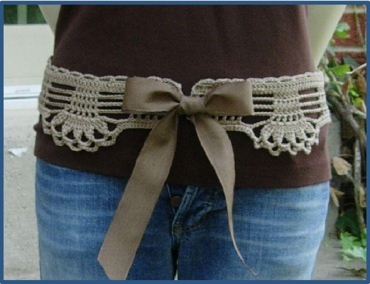 128 Best Crochet Belt Images On Pinterest Crochet Belt Belt And