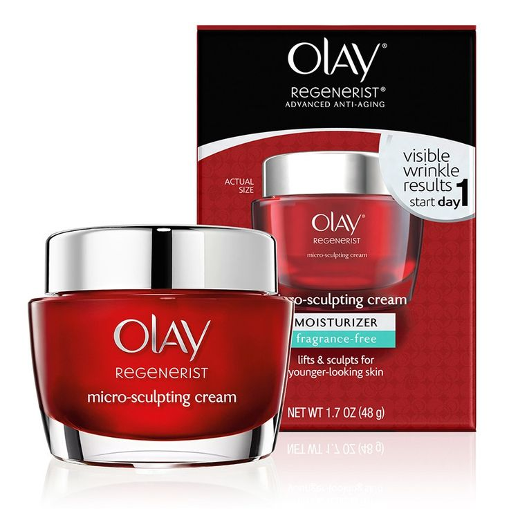Olay Regenerist Micro-Sculpting Cream Fragrance-Free is an anti-aging moisturizer that tightens skin and reduces wrinkles fast.  Shop now at Olay.com