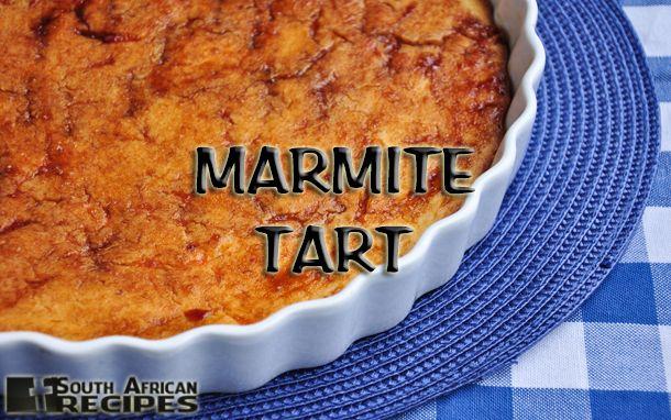 South African Recipes MARMITE TART (VEGEMITE) (Sarah Duff)