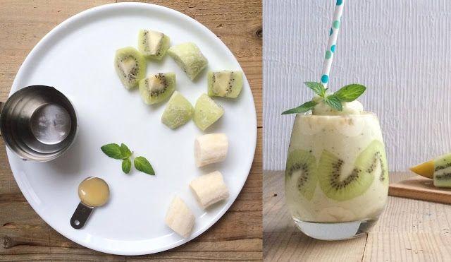 Prosty ale efektowny koktajl z mrożonymi owocami